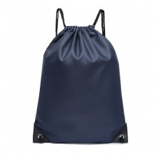 S2020 - Kono Polyester Drawstring Backpack - Navy