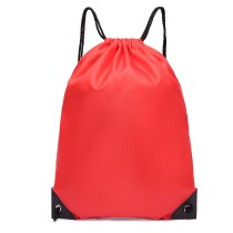 S2020 - Kono Poliester Plecak ze sznurkiem - czerwony