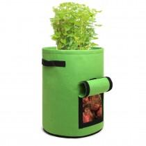 S2038 - Kono 10 galones Bolsa de cultivo de hortalizas de jardín - Verde