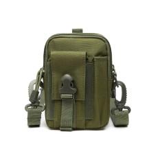 S2053 - Kono Casual Small Canvas Cross Body Bag - Green
