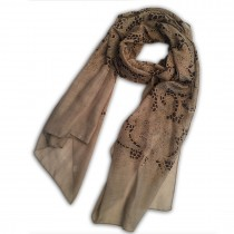 S6407 lace flower Pattern Soft Scarf Large Wrap Scarves Shawl