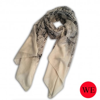 S6407 lace flower Pattern Soft Scarf Large Wrap Scarves Shawl