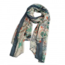 S6408 butterfly Pattern Soft Scarf Large Wrap Scarves Shawl
