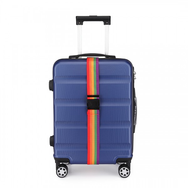 Rainbow Buckle Luggage Suitcase Belt Strap